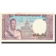 Billet, Lao, 50 Kip, Undated (1963), KM:12a, TTB+ - Laos