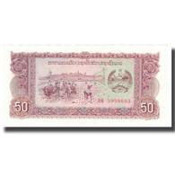 Billet, Lao, 50 Kip, Undated (1979), KM:29a, SUP+ - Cambodia