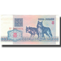 Billet, Bélarus, 5 Rublei, 1992, 1992, KM:4, SUP - Belarus