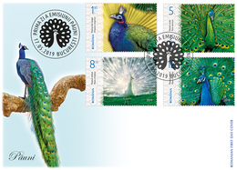 Romania 2019 / Peafowls / FDC - Paons