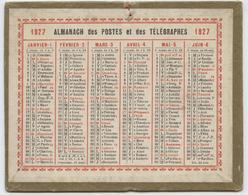 Almanach Des Postes, 1927, Petit Format, De Poche, Dimensions, 12,50 X 10 - Calendars