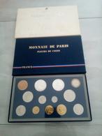 6609-2019    COFFRET MONNAIE DE PARIS FLEURS DE COINS 1988 - Z. FDC