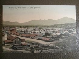 Antique Tarjeta Postal - Peru Perou - Morropon - Vista General - Piura - Librería Ramos Montero - Pérou