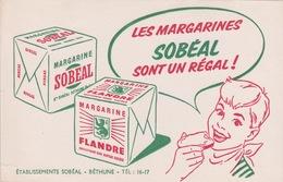 BUVARD - MAGARINE FLANDRE SOBEAL SONT GOUT UN REGAL  A BETHUNE - Blotters