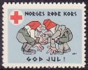 NORWAY Red Cross Christmas Seal 1932 MNH Very Nice - Noël