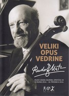 Croatia 2016 / Rudolf Matz, Great Work Of Serenity, Music / Exhibition Opening Invitation Card / Zagreb City Museum - Museum
