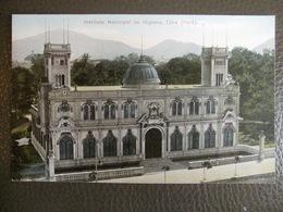 Antique Tarjeta Postal - Peru Perou - Instituto Municipal De Higiene - Lima - Polack-Schneider N°121 - Pérou