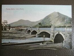 Antique Tarjeta Postal - Peru Perou - Puente Balta - Lima - Polack-Schneider N°29 - Rail Railroad Chemin De Fer - Pérou