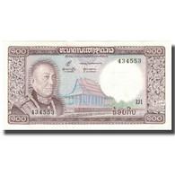 Billet, Lao, 100 Kip, Undated (1974), KM:16a, SPL - Laos