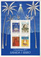 1977 Samoa 1977 Christmas Noel Navidad   Souvenir Sheet MNH - Samoa