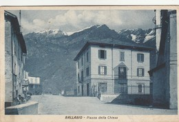 BALLABIO - PIAZZA DELLA CHIESA - Lecco