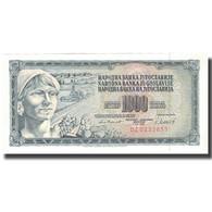 Billet, Yougoslavie, 1000 Dinara, 1981, 1981-11-04, KM:92d, SUP - Yugoslavia