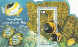 2004 Samoa Fish Marine Life Souvenir Sheet MNH - Samoa