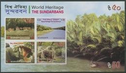 Bangladesch 2008 UNESCO-Welterbe Sundarbans Block 30 C Postfrisch (C12834) - Bangladesh