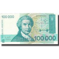 Billet, Croatie, 100,000 Dinara, 1993, 1993-05-30, KM:27A, SUP+ - Croatie