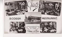 GASZ. BODEGA RESTAURANT. ROTTERDAM. MULTI VUE CPA CIRCA 1950s - BLEUP - Hotels & Restaurants