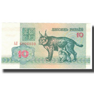 Billet, Bélarus, 10 Rublei, 1992, 1992, KM:5, SUP - Belarus