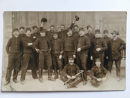 Foto Photo AK Soldaten Francais Soldats Uniform - Guerre 1914-18
