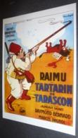 Carte Postale - Tartarin De Tarascon (cinéma Affiche Film) Raimu - Alphonse Daudet (illustration : Cecchetto) - Posters On Cards