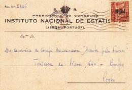 Portugal  Circulou De Lisboa Para O Porto - Lisboa