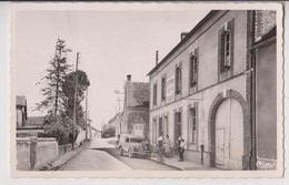 CHAMPLAY (89) : CAFE RESTAURANT HATTIER - PHOTO COMBIER MACON - CPSM FORMAT CPA - 2 SCANS - - Other Municipalities