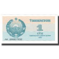 Billet, Uzbekistan, 1 Sum, 1992, 1992, KM:61a, SUP+ - Oezbekistan