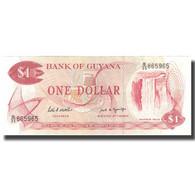 Billet, Guyana, 1 Dollar, Undated (1966-92), KM:21g, SPL+ - Guyana