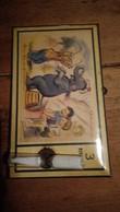 Illustration De Germaine Bourret Minuteur Pour œuf Cuisine éléphant Cirque Dompteur - Vieux Papiers