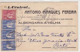 Portugal  Albergaria -A- Velha   Porto Em 1923 - Lisboa