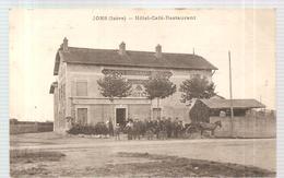 CPA Jons (38) Hôtel Café Restaurant écrite En 1915 - Pont-de-Chéruy
