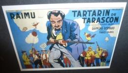 Carte Postale - Tartarin De Tarascon (cinéma Affiche Film) Raimu (illustration : Cecchetto) - Posters On Cards
