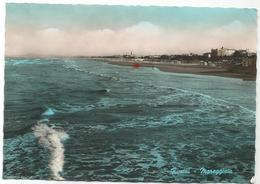 W3001 Rimini - Panorama Della Spiaggia - Mareggiata / Non Viaggiata - Rimini