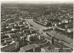 W3002 Rimini - Panorama Aereo Vista Aerea Aerial View Vue Aerienne - Ponte Di Tiberio / Viaggiata 1959 - Rimini