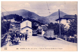 4562 - Sospel ( 06 ) - Gare Du Tramway De Menton à Sospel - F. Laugier - N°258 - - Sospel