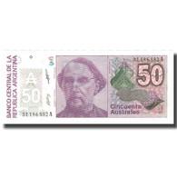 Billet, Argentine, 50 Australes, Undated (1986-89), KM:326b, SUP+ - Argentina