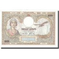 Billet, Yougoslavie, 1000 Dinara, 1931, 1931-12-01, KM:29, SUP - Yugoslavia