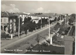 W3007 Miramare Di Rimini - Viale Principe Di Piemonte / Viaggiata 1957 - Rimini
