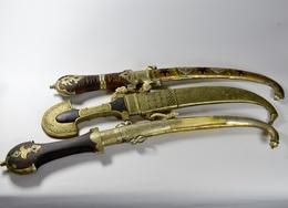 Lot Koumyia Maroc1960 - Knife - Afrique Africa Africain - Armes Blanches
