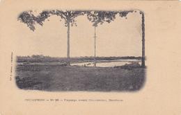 CPA CAMBODGE @ Pnomphenh Ou Phnom Penh - Paysage Avant L'inondation - Banlieue Vers 1904 - Cambodia