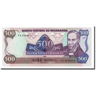 Billet, Nicaragua, 500 Cordobas, 1985, KM:155, NEUF - Nicaragua