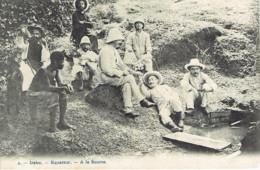 Irebu Equateur A La Source N° 2 Animation  1906 - Belgian Congo - Other