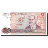 Billet, Brésil, 50 Cruzados, Undated (1986-88), KM:210a, SUP+ - Brazil