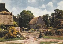 La Bretagne Chaumière Bretonne (2 Scans) - Bretagne