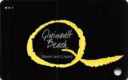 Quinault Beach Casino - Ocean Shores WA -  BLANK Slot Card   ...[RSC]... - Casinokarten