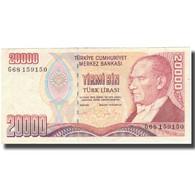 Billet, Turquie, 20,000 Lira, 1970, 1970-10-14, KM:201, SUP - Turquie