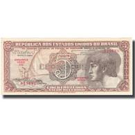 Billet, Brésil, 5 Cruzeiros, Undated (1961-62), KM:166b, TTB+ - Brazil