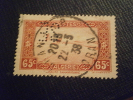 ALGERIE ALGERIA TIMBRE 113 SE31 PERFORE PERFORES PERFIN PERFINS PERFORATION LOCHUNG PERCE PERFORATI PERFO - Algérie (1924-1962)