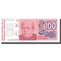 Billet, Argentine, 100 Australes, Undated (1985-90), KM:327c, SPL+ - Argentina