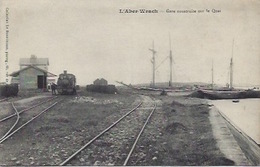 L'Aber -Wrach  Près De Brest Gare Avec Train - Frankreich