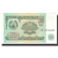 Billet, Tajikistan, 50 Rubles, 1994, 1994, KM:5a, SPL+ - Tadjikistan